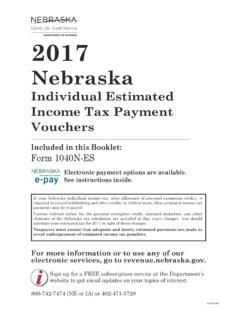 2017 - Nebraska Department of Revenue