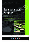 Praise for Essential Scrum - pearsoncmg.com