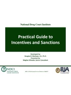 Incentives and Sanctions - National TASC