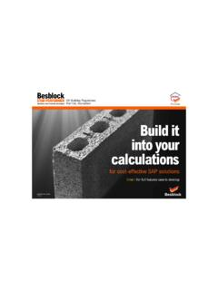 Build it into your calculations - Besblock