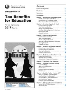for Education Page 1 of 87 10:40 - 31-Jan-2018 Tax Benefits