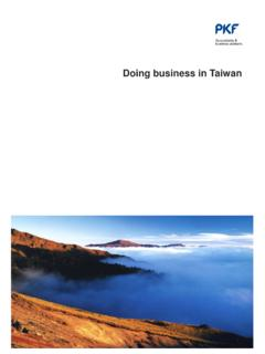 DOING BUSINESS IN TAIWAN - PKF International