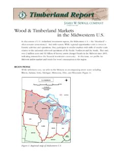 Wood & Timberland Markets in the Midwestern U.S.