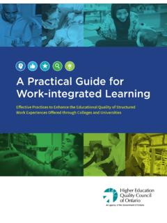 A Practical Guide for Work-integrated Learning - …