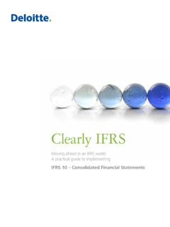 Clearly IFRS - IFRS 10 Consolidated Financial Statements