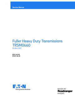 Fuller Heavy Duty Transmissions TRSM0660 - Wholesale