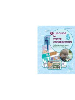 B LUE GUIDE for WATER CONSERVATION - Village of …