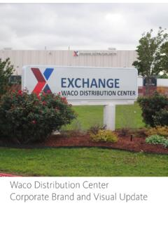 Waco Distribution Center Corporate Brand and Visual Update