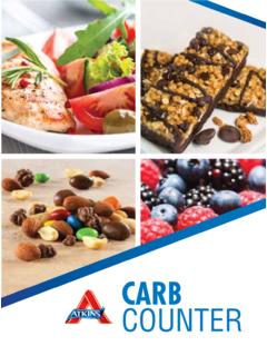 CARB COUNTER - files.atkins.com