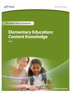 Elementary Education: Content Knowledge