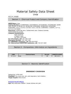 Material Safety Data Sheet - Lakeland University