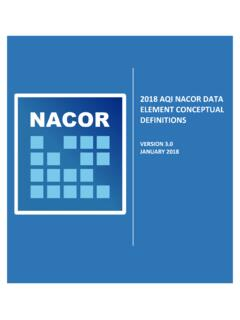 2018 AQI NACOR DATA ELEMENT CONCEPTUAL …