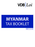Myanmar Tax Booklet 2017 - VDB Loi