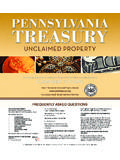 WHAT IS UNCLAIMED PROPERTY? - Pittsburgh …