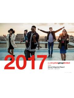 Annual Integrated Report - mrpricegroup.com