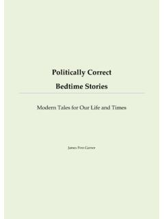 Politically Correct Bedtime Stories - 北大未名BBS
