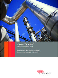 DuPont Kalrez - Sealing Devices