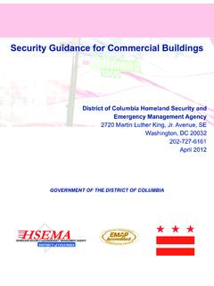 Security Guidance for Commercial Buildings - hsema