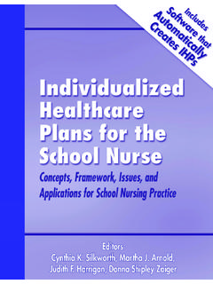 IHPs: Concepts, Framework, and Issues - School Health
