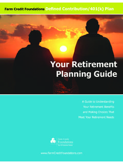 Your Retirement Planning Guide - Foundations