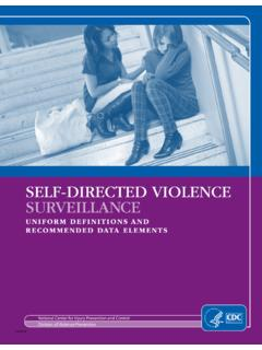 Self Directed Violence Surveillance