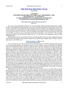 #2795 - The Double Drawing Near - Spurgeon Gems