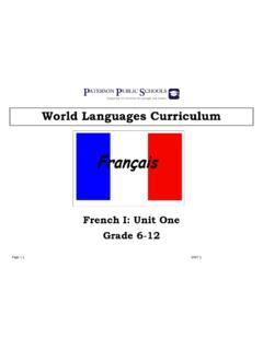 World Languages Curriculum - paterson.k12.nj.us