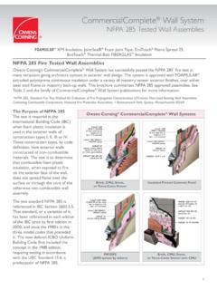 CommercialComplete Wall System - Owens Corning