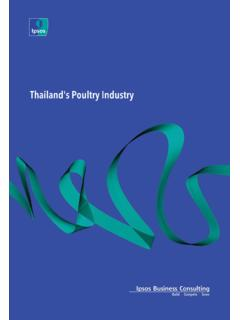Thailand's Poultry Industry - Ipsos Business …