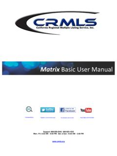 Matrix Basic User Manual - imrmls.com