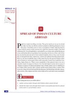 21 SPREAD OF INDIAN CULTURE ABROAD P