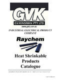 Heat Shrinkable Products Catalogue - High …