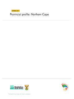 Provincial profile: Northern Cape - The South Africa I ...