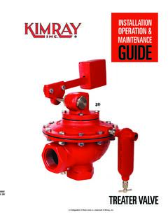 TREATER VALVE - Kimray