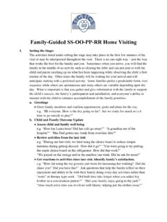 Family-Guided SS-OO-PP-RR Home Visiting - DMM