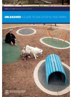 UNLEASHED A GUIDE TO SUCCESSFUL DOG PARKS