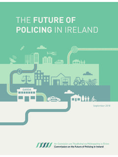 THE FUTURE OF POLICING IN IRELAND - policereform.ie