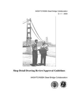 Shop Detail Drawing Review/Approval Guidelines