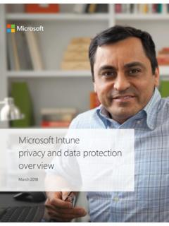 Windows Intune Privacy and Data Protection Overview