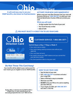 Ohio Electronic Benefit Transfer (EBT)