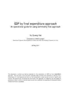 GDP by final expenditure approach ver1 - United Nations