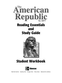 Reading Essentials and Study Guide - Student Edition