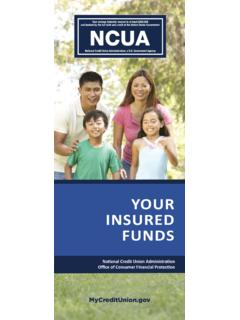 Your Insured Funds Booklet - mycreditunion.gov