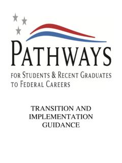 TRANSITION AND IMPLEMENTATION GUIDANCE - opm.gov