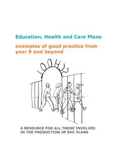 Education, Health and Care Plans examples of good …