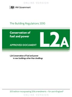 The Building Regulations 2010 L2