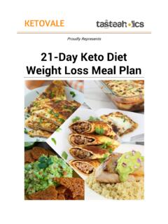 21-Day Keto Diet Weight Loss Meal Plan - KetoVale