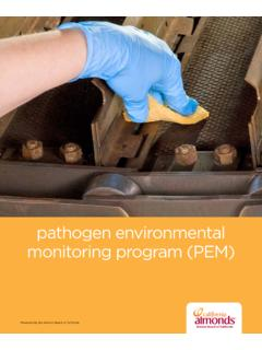 pathogen environmental monitoring program (PEM)
