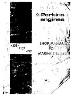 Perkins Shop Manual - Marine Surveyor Ontario