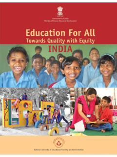 Education For All INDIA
